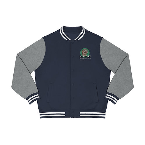 History Through The Lens Men's Varsity Jacket