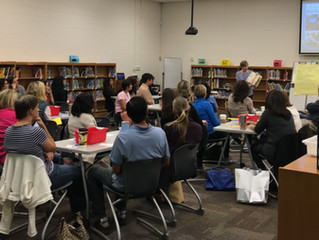 This Week's Writing Workshop for Parents by Jill Hawes was a HUGE Success!
