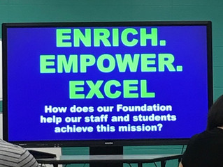 Principal Chat - Hear About Our New Initiatives for the 2018-19 School Year!