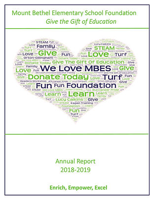 2018-2019 Foundation Annual Report_Cover