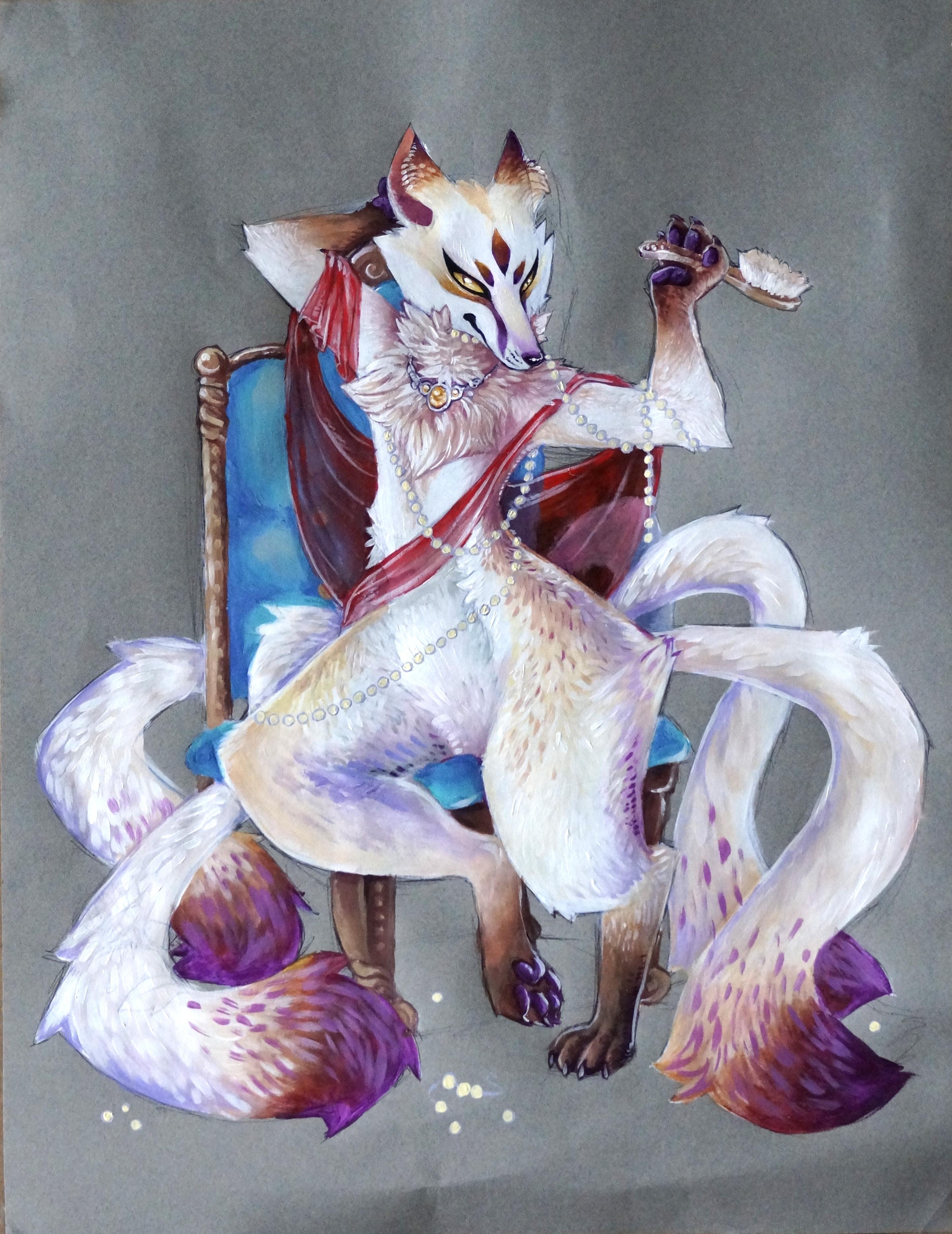 jewelry kitsune