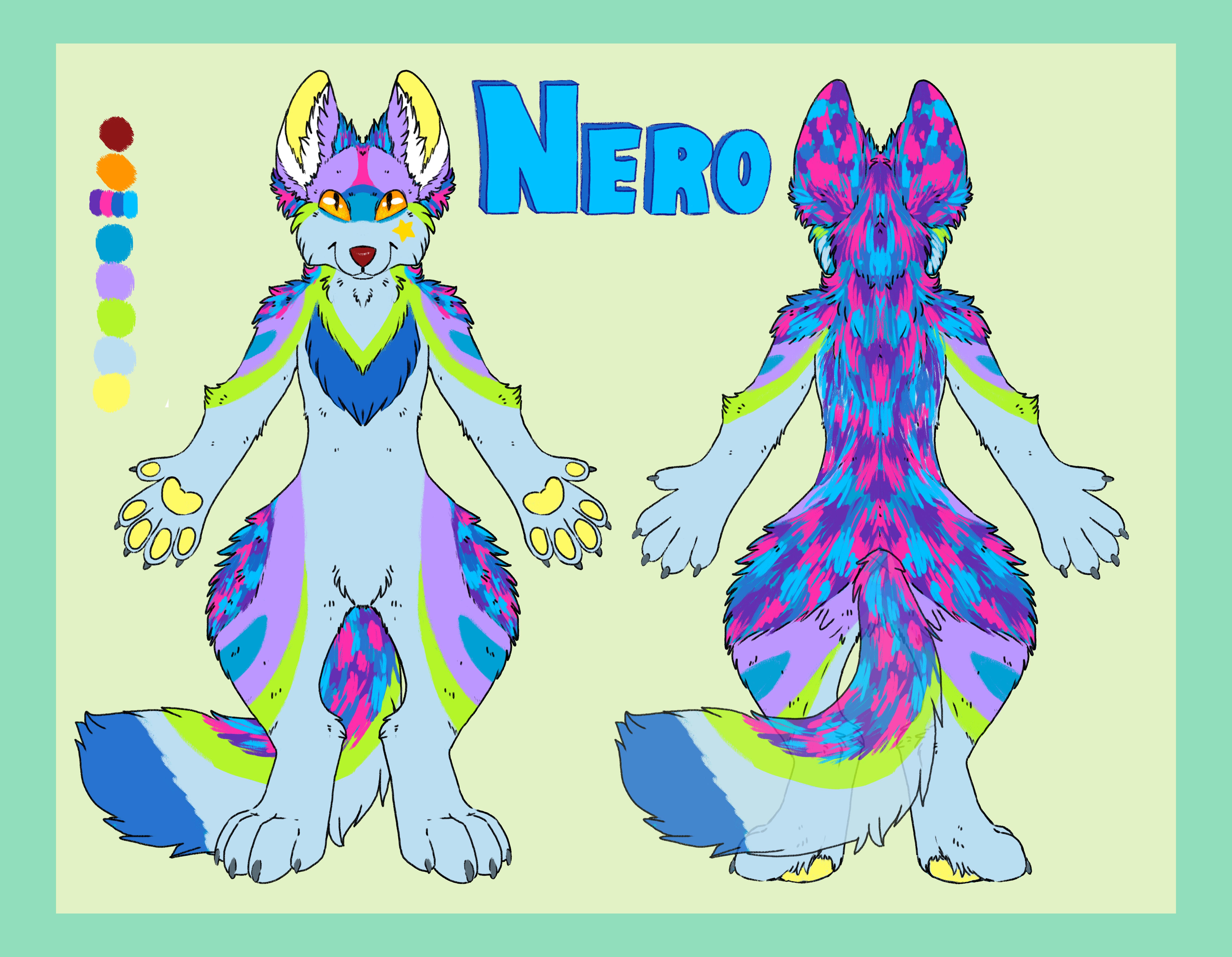 Nero fennec ref
