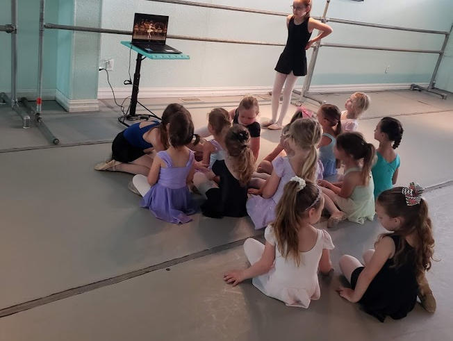 watching classical ballet clips