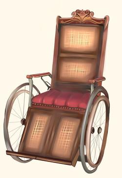 Colin's wheelchair
