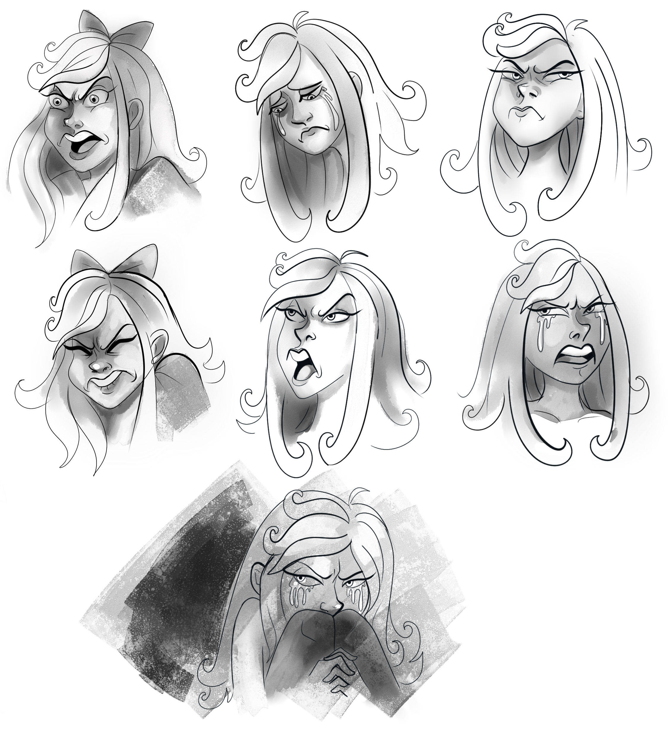 Mary sketches