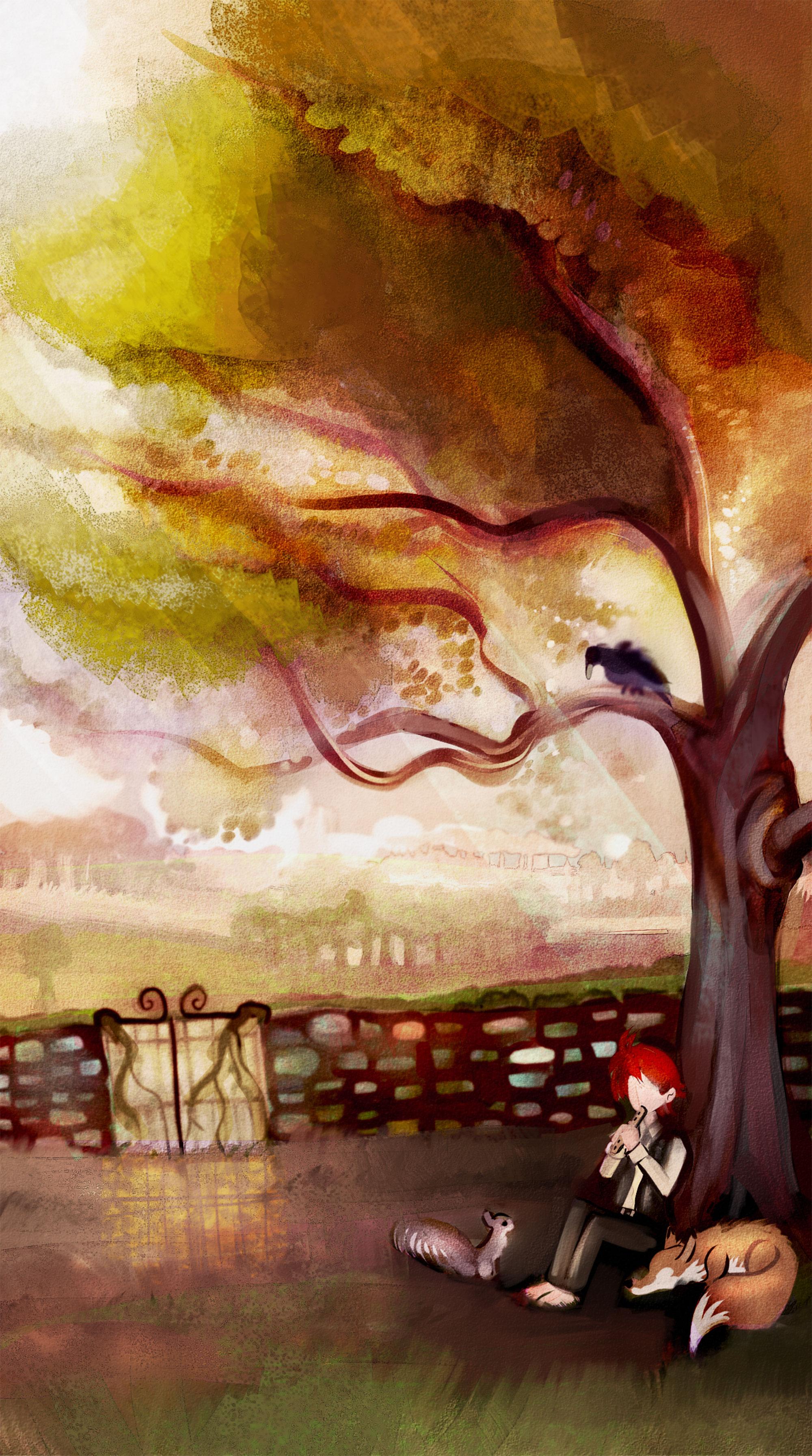 Dickon's tree