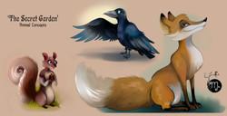 Dickon's animals