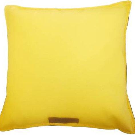 Coussin d'intérieur jaune aperçu loin