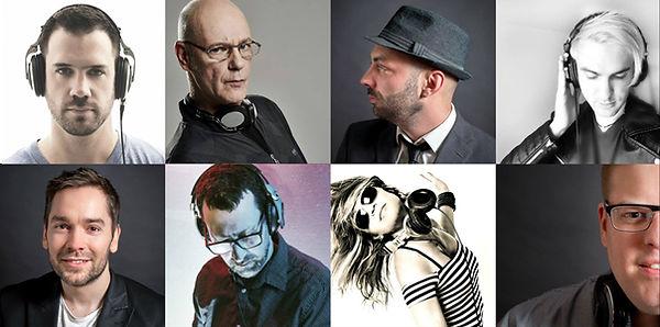 Équipe de DJs professionnels pour vos événements à Montréal, Québec et les environs.