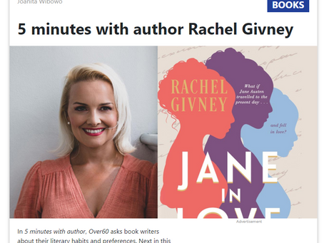 5 minutes with author Rachel Givney