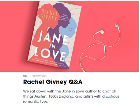 Rachel Givney Q&A