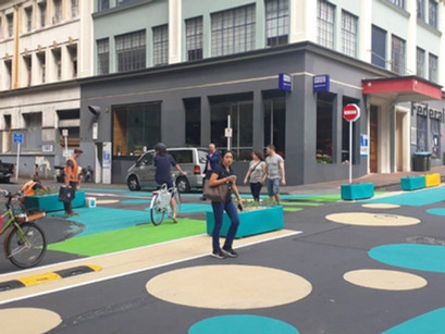 New Zealand invests to widen streets for people and cycling