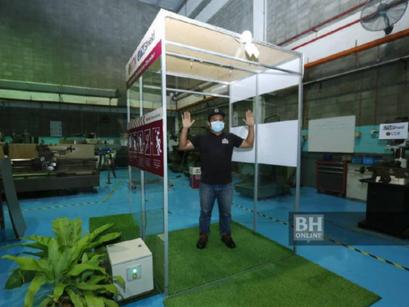 UTMShield Automated Disinfection Chamber (Pondok Nyah Cemar Automatik)
