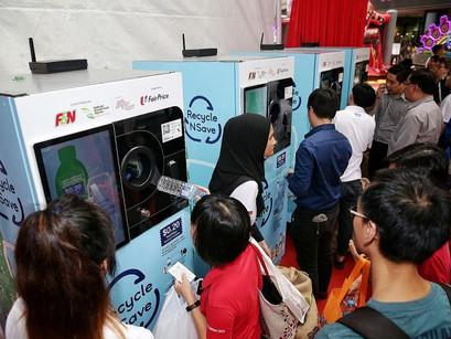 Singapore's Recycling Vending Machines