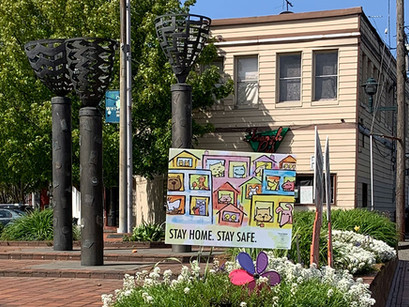 Seattle's City-wide Art Project in Response to COVID-19