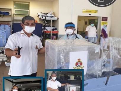 Protective Intubation Box