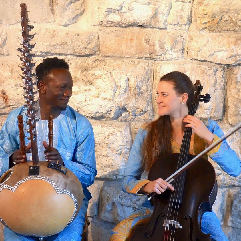 ConcertOnline: Cello und Kora