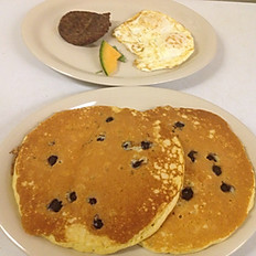 Blueberry Pancake Combo