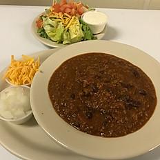 Chili & Salad