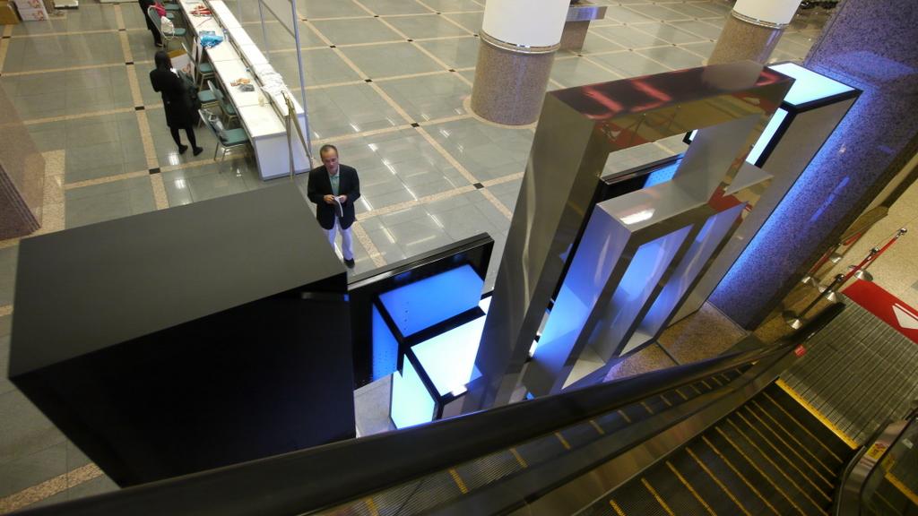 台北國際會議中心數位裝置藝術 美背設計