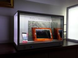 最新24吋透明螢幕箱體