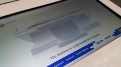 桃園機場時光導覽掃描器