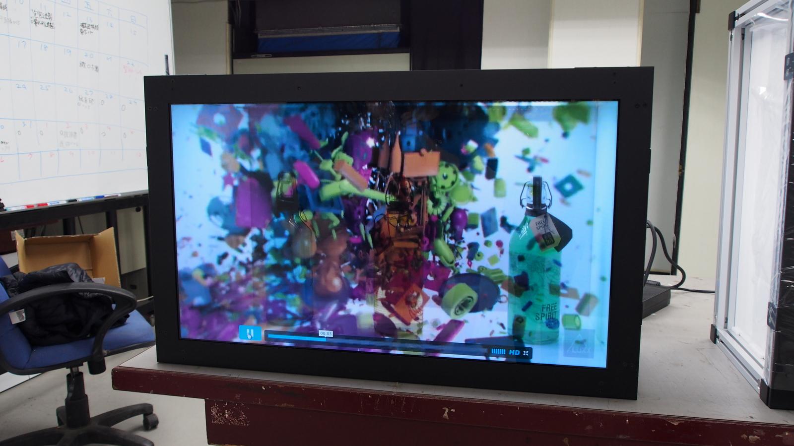 42吋透明螢幕