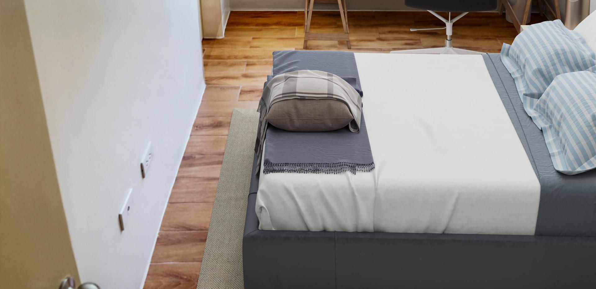 2-Bedroom Unit Master's Bedroom