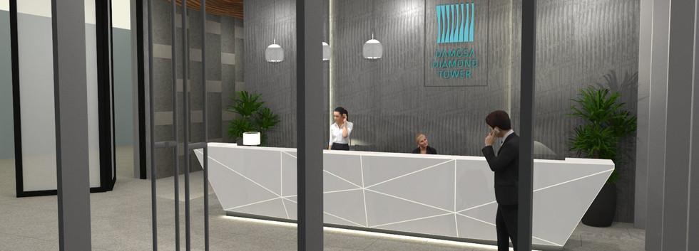 Damosa Diamond Tower - Main Lobby