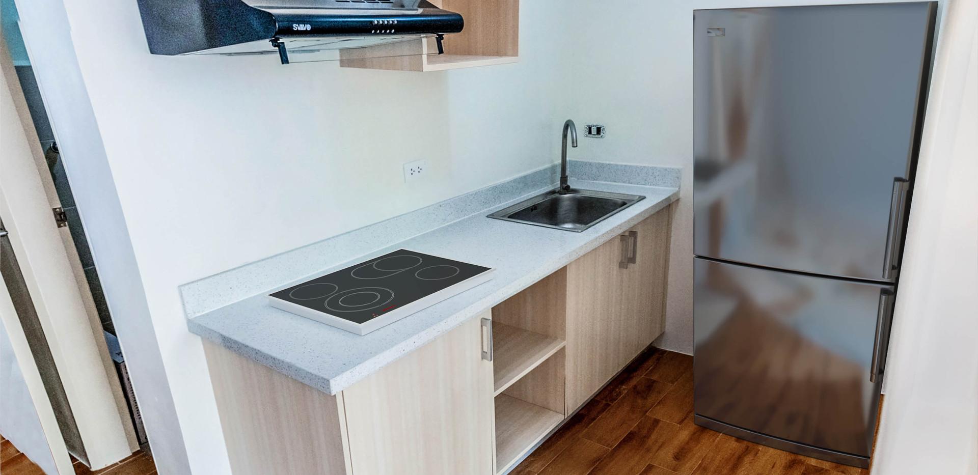 2-Bedroom Unit Kitchen Area