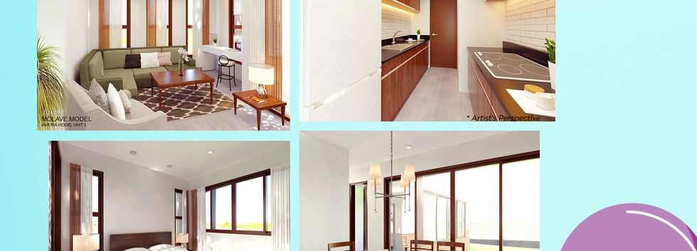 Molave Rendered Interiors
