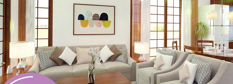 Jasmine - Living Room