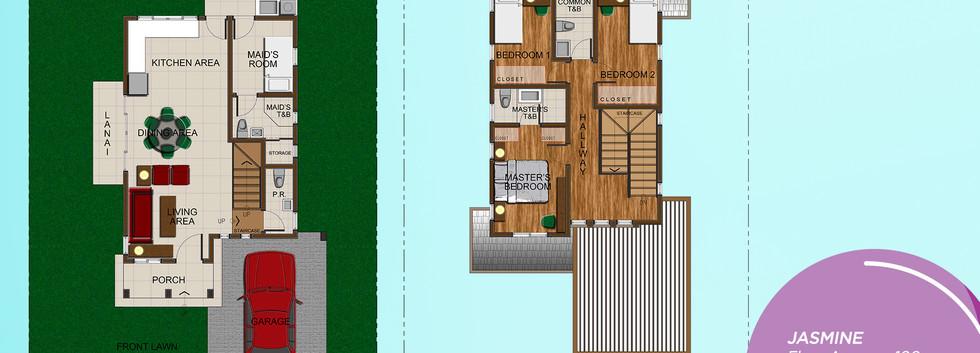 Jasmine Rendered Floor Plan