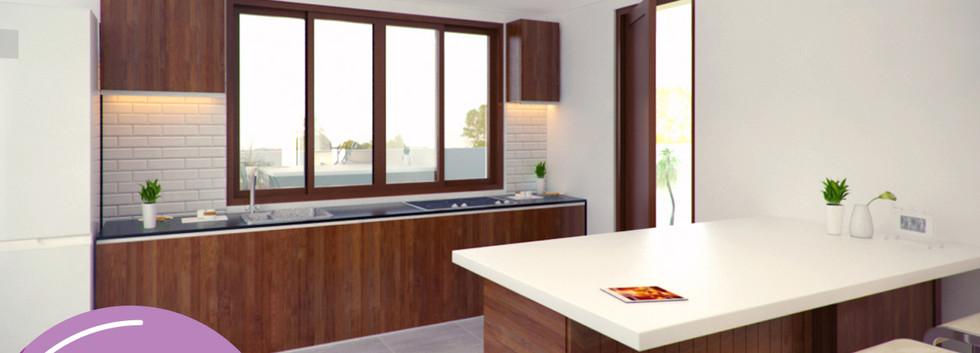 Acacia - Kitchen Area