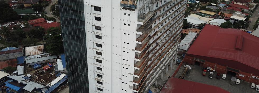 Damosa Diamond Tower - Side View