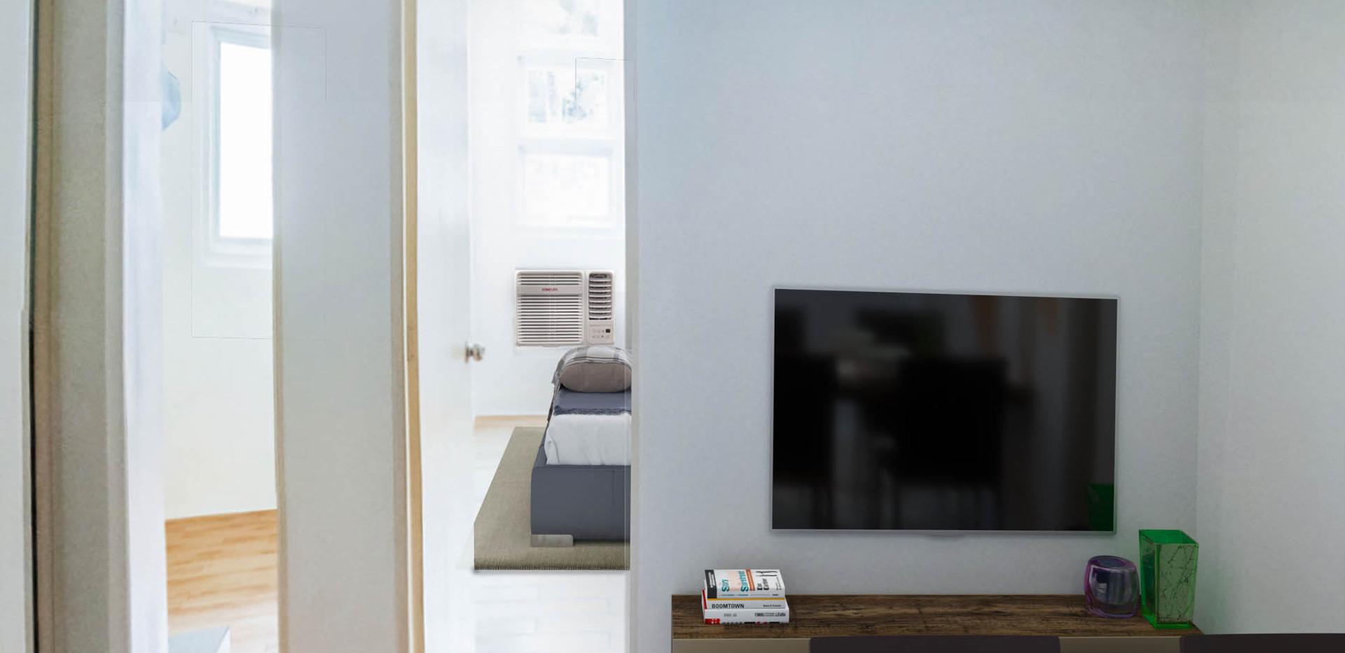 2-Bedroom Unit Living Room