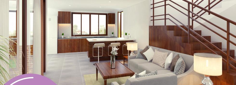 Acacia - Living room