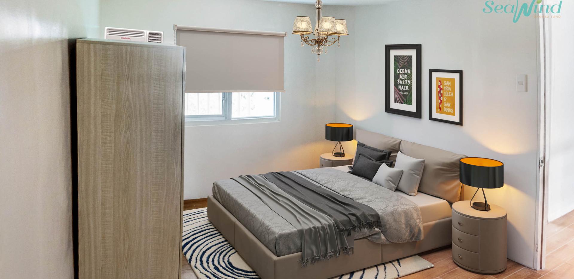 Bi-Level Unit Master's Bedroom
