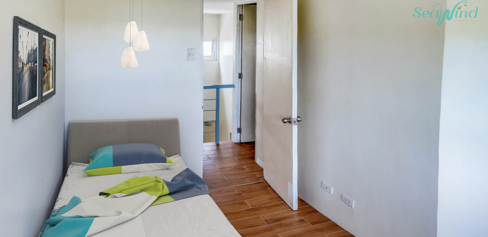 Bi-Level Unit Second Level Bedroom