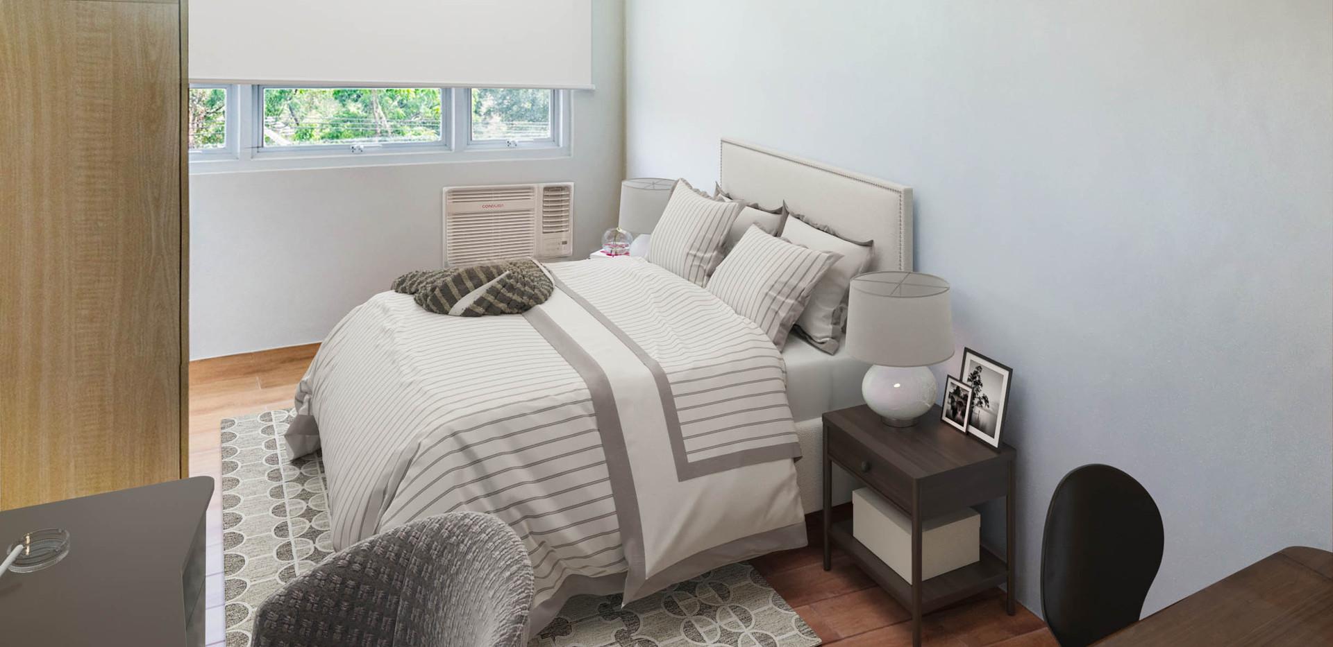 Studio Unit Bed Space
