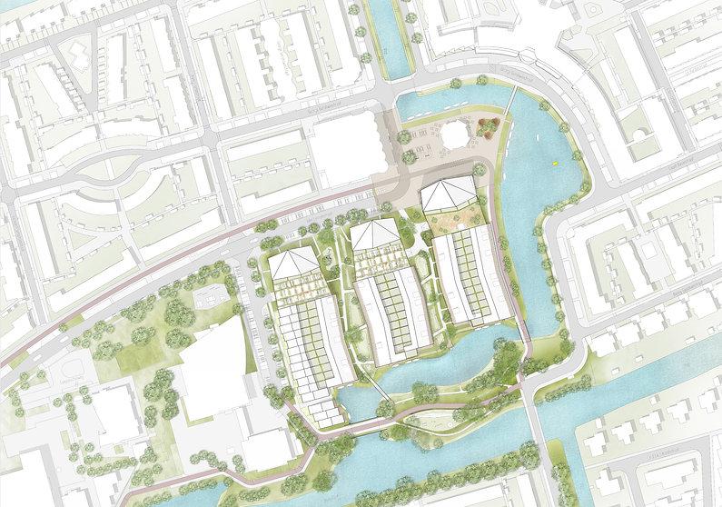 Zaandijk, rrog, stedenbouw en landschap, h5 architecten, bannehof, bannehoven