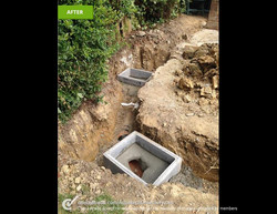 Mna-hole instalment for sewer access