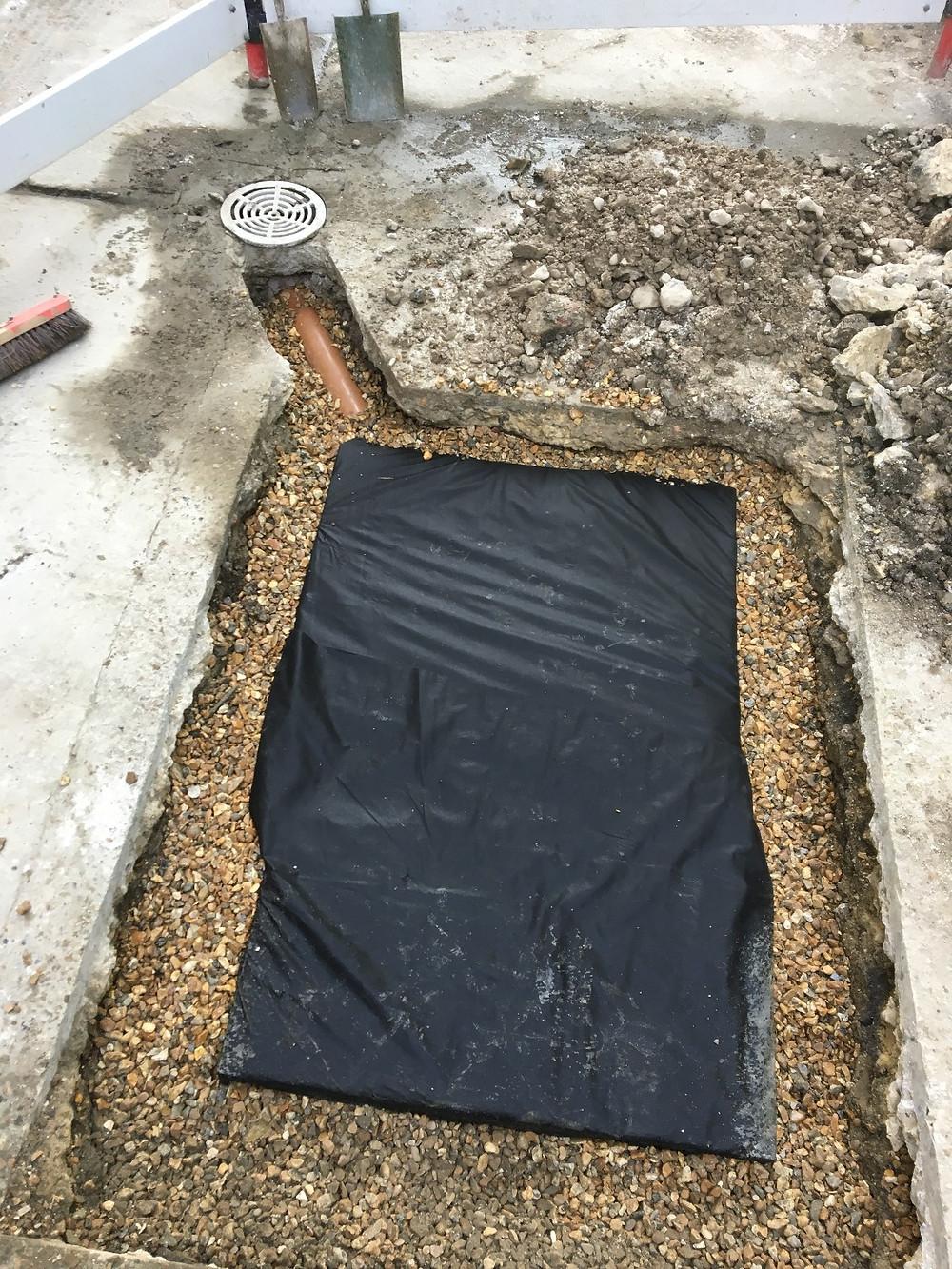 soakaway surface water drainage