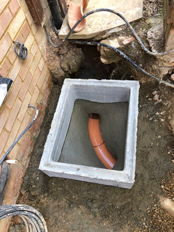 Sewer build over