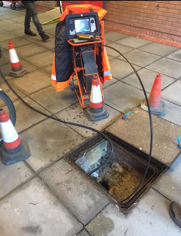 cctv drain survey and drainage investigation