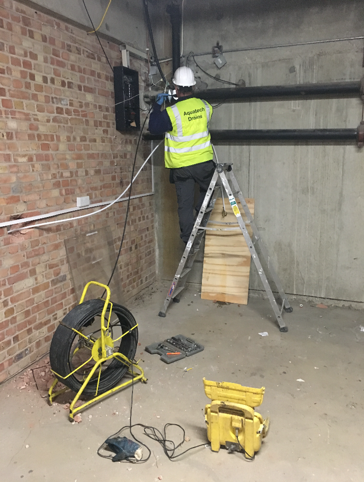 cctv drain survey and drainage investigations