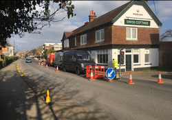 Road Closure for Sewer CCTV Survey
