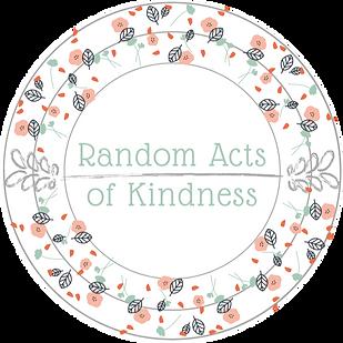 Random Acts Of Kindness Circle Logo