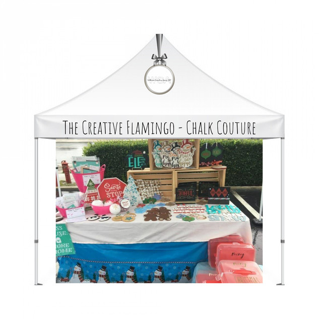 The Creative Flamingo Chalk Couture