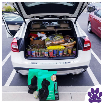 Traci's Paws Pet Food Drive at Kahoots i